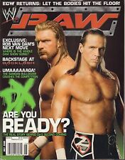 WWE Raw July 2006 Shawn Michaels, Triple H VG 032916DBE