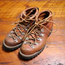 Vintage DANNER Womens Brown Leather Hiking Mountaineering Boots 6.5 37