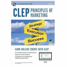 Clep Principles of Marketing W/Online Practice Tests, 6th Edition by James...