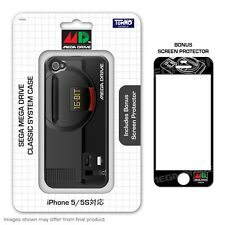 New SEGA Mega Drive System Style Silicon Case w/Screen Protector for iPhone 5/5s