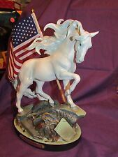 TRAIL OF PAINTED PONIES UNCONQUERED 911 AMERICAN Tribute Horse #4055520 NIB!