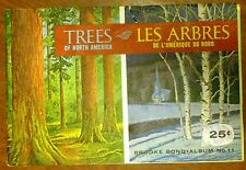 Trees of North America - Brooke Bond, Album 11   Very nice!  Complete with Cards