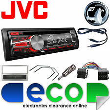 Vauxhall Corsa C 00-04 JVC Car Stereo Radio Upgrade Kit CD MP3 AUX USB Silver
