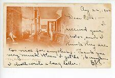 """""""The Northfield"""" Parlor Interior—Rare Antique—Northfield MA Interior PMC 1902"""