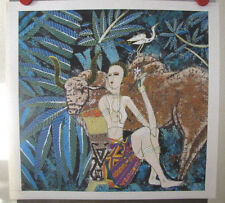Yunnan School Original Chinese Contemporary Art on Gaoli Paper Country Song 1989