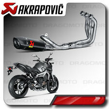 COMPLETE EXHAUST AKRAPOVIC YAMAHA MT 09 14-16 CARBON RC S-Y9R2-AFC