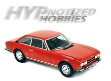 NOREV 1:18 1971 PEUGEOT 504 COUPE DIE-CAST RED 184776