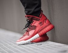ADIDAS TUBULAR X BOOTS MENS UK SIZE 8.5 EUR 42 2/3 SHOES TRAINERS RED VERY RARE