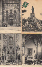 Lot 4 cartes postales anciennes CLERY