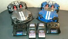 2 Nikko Sportster Mach III High Performance R/C Remote Control Cars  *lot of 2*