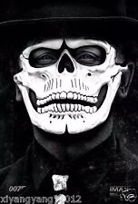 Hot FRP Skull Skeleton Full Face Mask Cosplay Props For James Bond 007: Spectre