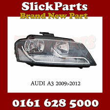 AUDI A3 HALOGEN HEADLIGHT HEADLAMP 2008 2009 2010 2011 2012 NEW
