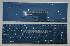 NEW for SONY SVF1521A1E SVF1521A2E SVF1521A4E Keyboard Backlit No FRA Black UK