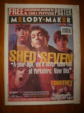 MELODY MAKER 1994 SEPTEMBER 10 SHED SEVEN SOUNDGARDEN PULP