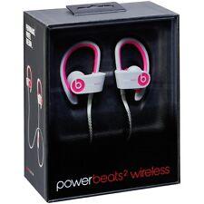 NEW Pink/Grey Beats Dr. Dre Powerbeats 2 Wireless In-Ear Headphone Remote-Talk !