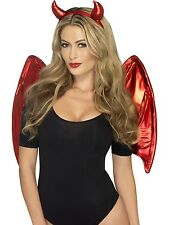 Devil Kit with wings and headband by Fever Instant Costume Fancy Dress Halloween