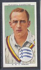 John Player - Cricketers 1938 - # 22 Walter Robins - Middlesex