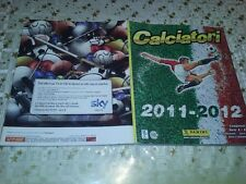 ALBUM FIGURINE/STICKERS CALCIATORI Panini 2011/12 11-12 COMPLETO 100% full