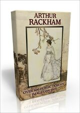 Arthur Rackham - 650* colour public domain images on DVD to use for anything!