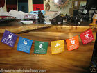 MINI PRAYER FLAG 150 CM AFFIRMATION BANNER 2 STYLES 2 PICK METAPHYSICAL