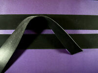 Latex Rubber Trim Strips .50mm, 15mm x200cm, Black