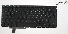 "APPLE MACBOOK PRO UNIBODY 17"" A1297 KEYBOARD UK LAYOUT 2009 2010 2011 F133"