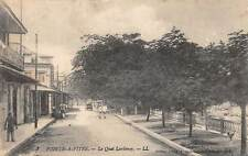 POINTE-A-PITRE, GUADELOUPE, LARDENOY QUAY, PEOPLE, LEVY PUB, used c. 1905-14