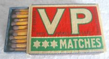 VP - SAFETY MATCHES, MADE IN SWEDEN