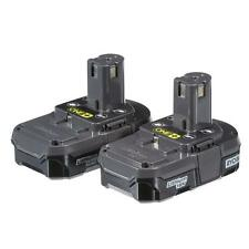 Ryobi P170 2-Pack 18-Volt ONE+ Compact Lithium-Ion Battery BRAND NEW P102 X2