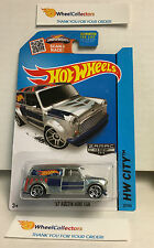 '67 Austin Mini Van #27 * ZAMAC Walmart * Hot Wheels 2015 USA Card * K7