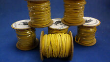Deer lace 1/8 wide  50' long 100% american made!!!! Gold color