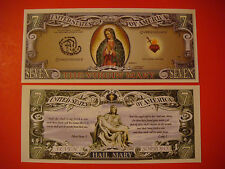 Hail the VIRGIN MARY ~ Seven Sorrows ~*~ $1,000,000 One Million Dollar Bill, USA