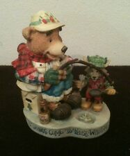 "Moose Creek Crossing ""Good Things Come To Those Who Bait!"" Figurine"