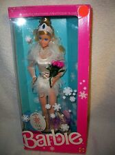Vintage Skating Star Barbie Calgary Doll NRFB #4547 Mattel Canada 1987 read