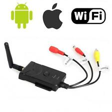 Wi-fi FPV Senza fili P2P Auto Inversa Video Camera Trasmettitore per Iphone