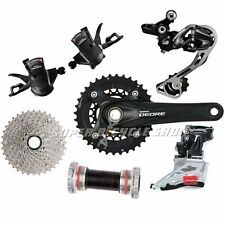 Shimano Deore 2x10 Speed 11-36T Groupset MTB Kit 6 piece , Black