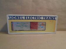 Lionel train 9491 merry christmas and happy new year 1986 boxcar