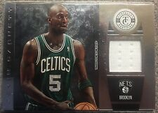 2013-2014 Kevin Garnett Panini Totally Certified Game Worn Patch Card No.73