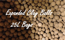 High Top Quality Hydroponic Expanded Clay Balls Pebbles 25L Bag