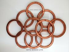 Copper Exhaust Gasket For Kawasaki GPZ 500 S 2000- 2001
