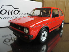 VOLKSWAGEN GOLF 1 GTI 1/12 OTTO OTTOMOBILE OTTOMODELS 1/12