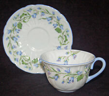 BEAUTIFUL SHELLEY HAREBELL CUP AND SAUCER