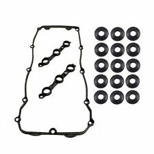 VALVE COVER GASKET 11120030496 WITH GROMMETS WASHERS for BMW E39 E46 E53 E60
