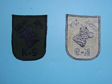 D003 Vietnam US Air Force 635th Security Police Squadron K9 patch