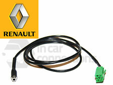 RENAULT AUX lead 3.5 mm FEMMINA JACK input CAVO IPOD ANDROID SONY HTC Aggiorna elenco