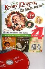 Kenny Rogers Christmas Special 4 SPECIALS NEW FREE SHIP DVD LIBERACE FRED WARING