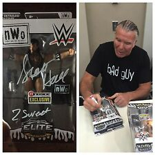 AUTOGRAPHED SCOTT HALL NWO RINGSIDE COLLECTABLES ELITE FIGURE