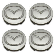 SET OF 4- FREE SHIPPING Mazda 2032 Maita MX5 3 5 6 MPV Wheel Center Caps Hubcaps
