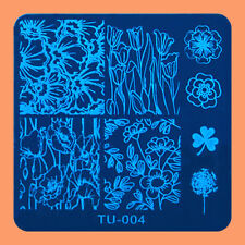 NEW Stamping Manicure Image Nail Art Image Stamp Template Tool Plate Polish T-04