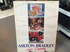 RARE MILTON BRADLEY TOY FAIR CATALOG 1991 MALL MADNESS NINTENDO GI JOE WWF NKOTB